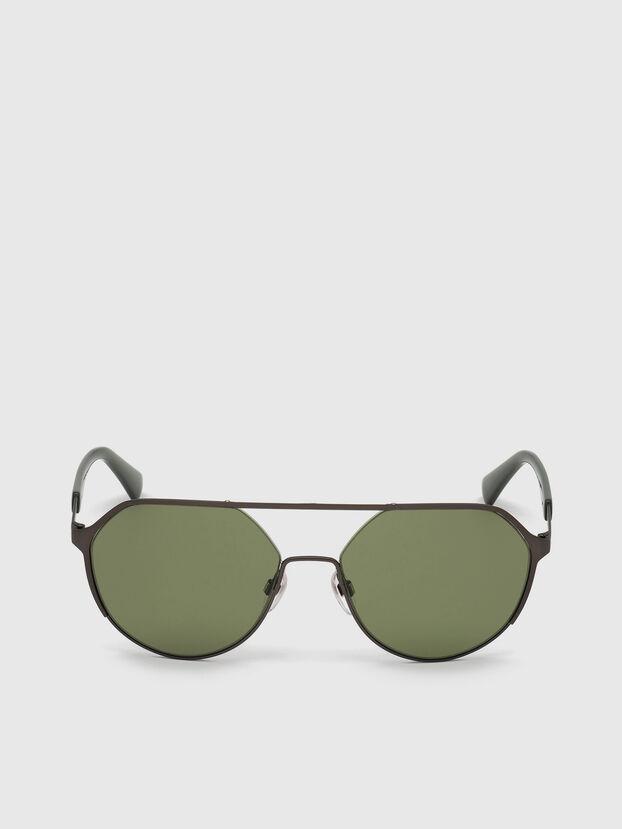 DL0324, Negro/Verde - Gafas de sol
