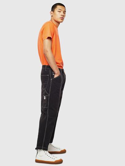 Diesel - T-THURE, Naranja - Camisetas - Image 6