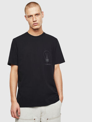 T-JUST-POCKET-T17, Negro - Camisetas