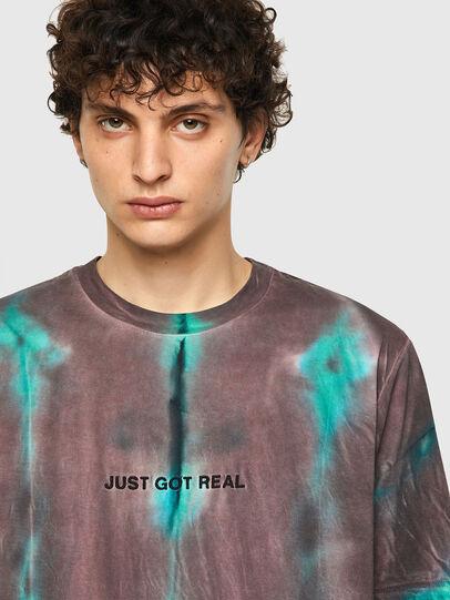 Diesel - T-JUST-B52, Rosa/Verde - Camisetas - Image 3