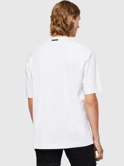 Diesel - TEORIALE-X3, Blanco - Camisetas - Image 2