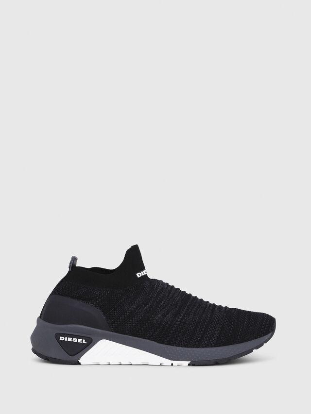 Diesel - S-KB ATHL SOCK, Negro - Sneakers - Image 1