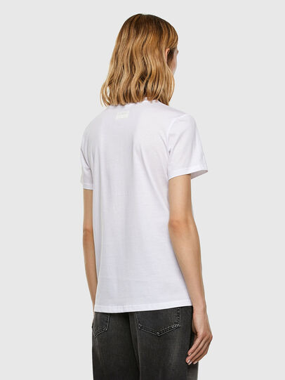 Diesel - T-SILY-E53, Blanco - Camisetas - Image 6
