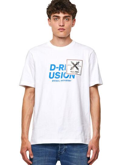 Diesel - T-JUST-B62, Blanco - Camisetas - Image 1