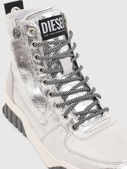 Diesel - S-RUA MID W, Plata - Sneakers - Image 4
