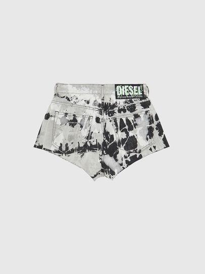 Diesel - DE-HIGWEI, Negro/Blanco - Shorts - Image 2