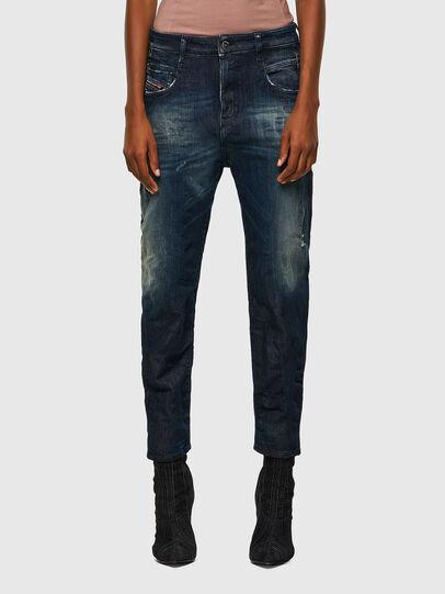 Diesel - Fayza JoggJeans® 09B50, Azul Oscuro - Vaqueros - Image 1