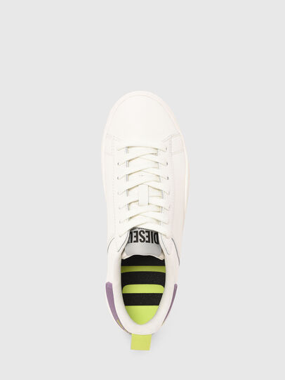 Diesel - S-CLEVER LOW LACE W, Blanco/Morado - Sneakers - Image 5
