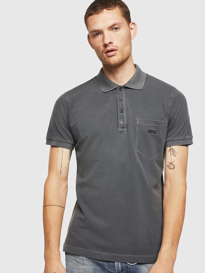 Diesel - T-KAL-2, Negro - Polos - Image 1