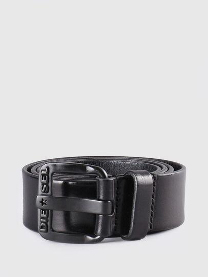 Diesel - B-STAR, Piel Negra - Cinturones - Image 1