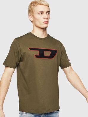 T-JUST-DIVISION-D, Verde Militar - Camisetas