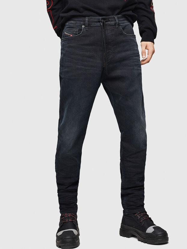 D-Vider JoggJeans 069GE, Negro/Gris oscuro - Vaqueros