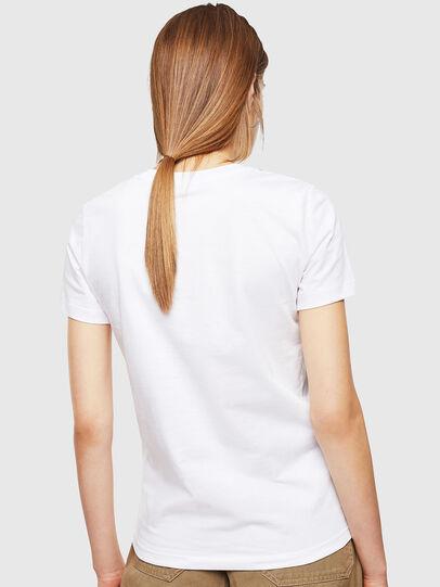 Diesel - T-SILY-001978, Blanco - Camisetas - Image 2