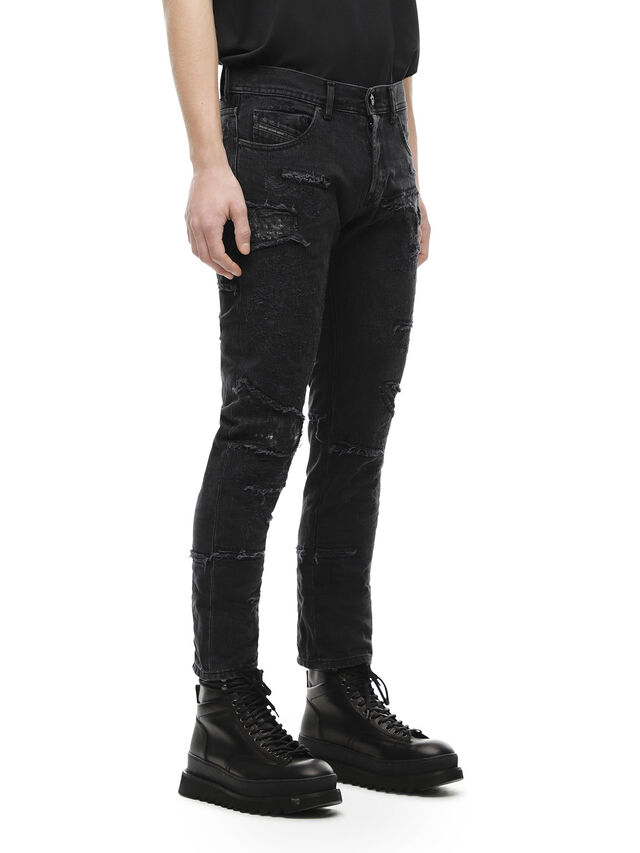 Diesel - TYPE-2813E, Black Jeans - Vaqueros - Image 3