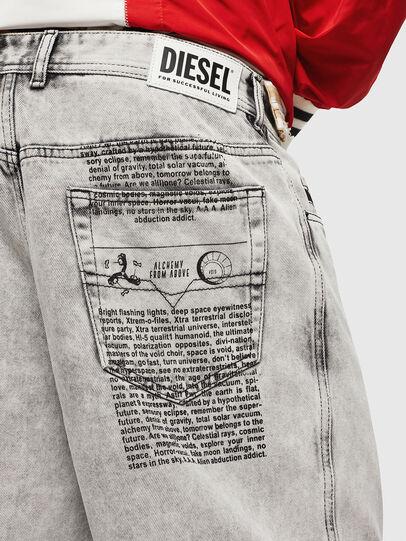 Diesel - D-WILLOH, Gris Claro - Shorts - Image 3