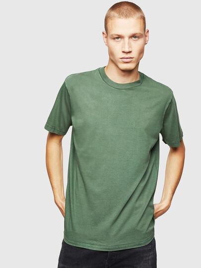Diesel - T-THURE, Verde - Camisetas - Image 1