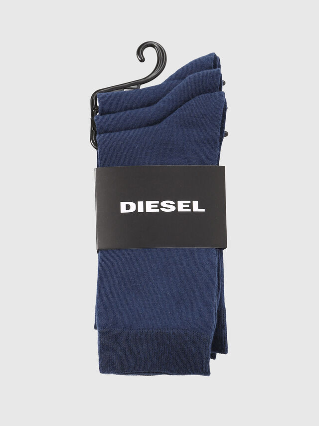 Diesel - SKM-RAY-THREEPACK, Azul - Calcetines - Image 2