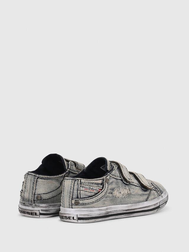 Diesel - SN LOW STRAP 11 DENI, Grey Jeans - Calzado - Image 3