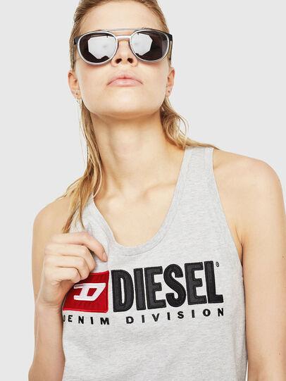 Diesel - T-SILK, Gris Claro - Tops - Image 3