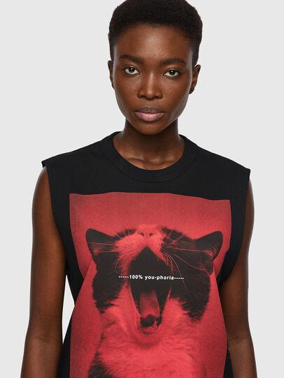 Diesel - T-PUNKYERN, Negro - Camisetas - Image 3