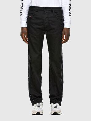 Krooley JoggJeans 0KAYO, Negro/Gris oscuro - Vaqueros