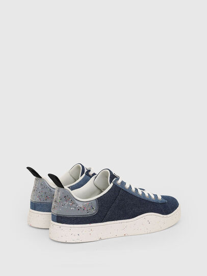 Diesel - S-CLEVER LOW LACE, Azul - Sneakers - Image 3