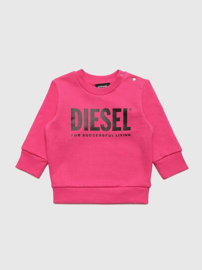 Diesel - SCREWDIVISION-LOGOB, Rosa - Sudaderas - Image 1
