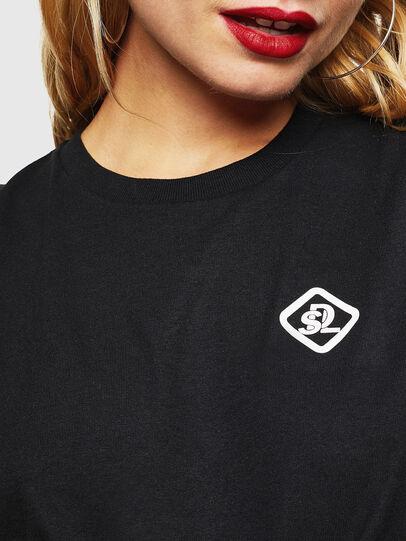 Diesel - CC-T-DIEGO-COLA, Negro - Camisetas - Image 5