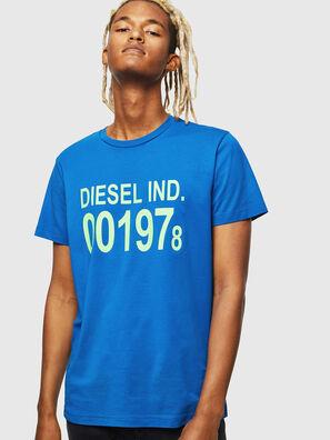 T-DIEGO-001978, Azul Brillante - Camisetas