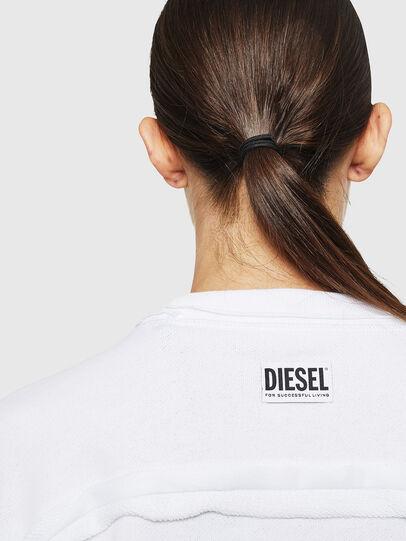 Diesel - F-LYANY-H, Blanco - Sudaderas - Image 3