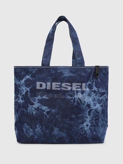 Diesel - D-THISBAG SHOP M, Azul - Bolsos Shopper y Al Hombro - Image 1