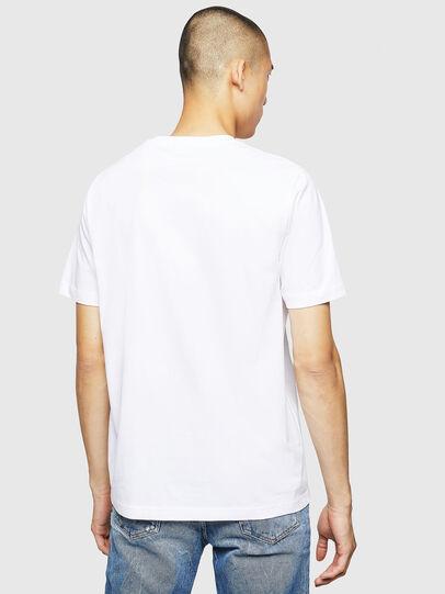 Diesel - T-JUST-B23, Blanco - Camisetas - Image 2