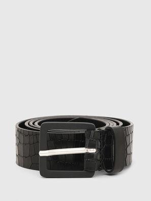 B-CROCLE, Negro - Cinturones