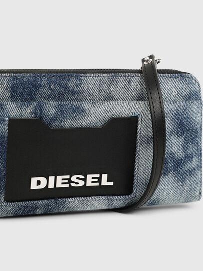Diesel - ALLIUM, Blue Jeans - Carteras Con Cremallera - Image 7