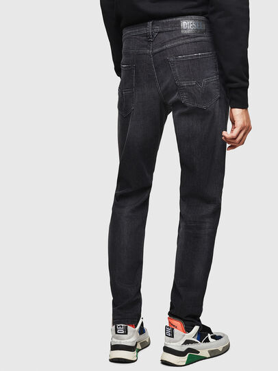 Diesel - Larkee-Beex 082AS, Negro/Gris oscuro - Vaqueros - Image 2