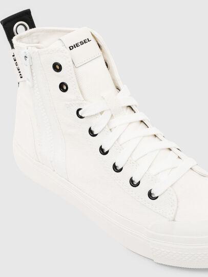 Diesel - S-ASTICO MID ZIP W, Blanco - Sneakers - Image 4