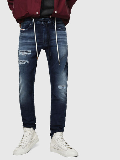 Diesel - Thommer JoggJeans 069JF, Azul Oscuro - Vaqueros - Image 1