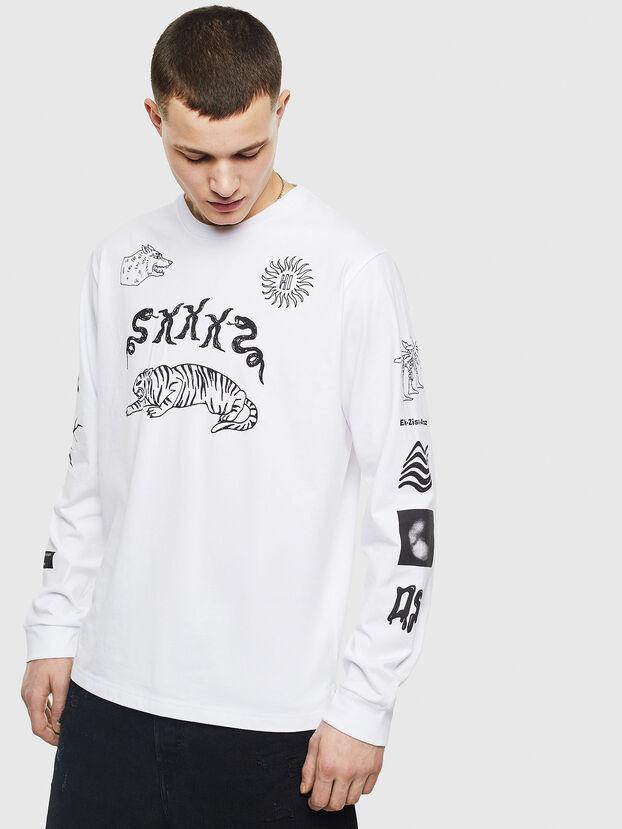 T-JUSTLY, Blanco - Camisetas