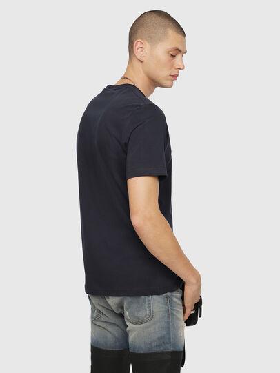 Diesel - T-JUST-DIVISION, Azul Oscuro - Camisetas - Image 2