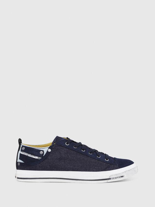 Diesel - EXPOSURE LOW I, Azul Oscuro - Sneakers - Image 1