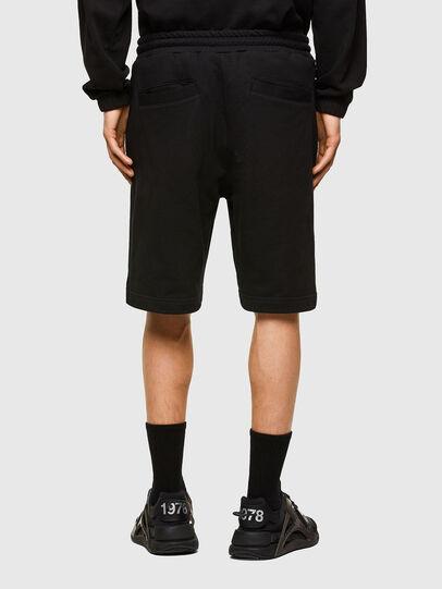 Diesel - P-CROWN-LOGO, Negro - Shorts - Image 2