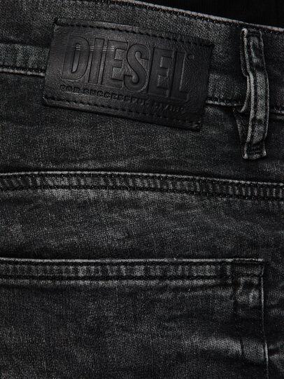 Diesel - D-Reeft JoggJeans 009FZ, Negro/Gris oscuro - Vaqueros - Image 4