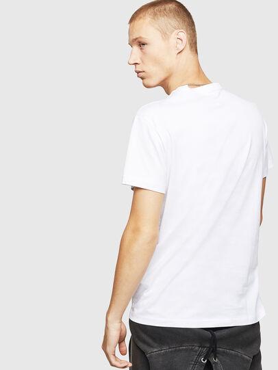 Diesel - T-DIEGO-B17, Blanco - Camisetas - Image 2