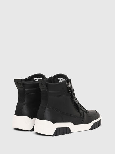Diesel - S-RUA MID W, Negro - Sneakers - Image 3