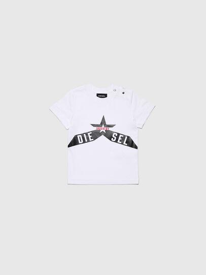 Diesel - TDIEGOA7B, Blanco - Camisetas y Tops - Image 1