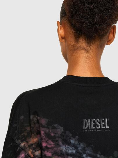 Diesel - S-MART-A92, Negro - Sudaderas - Image 4