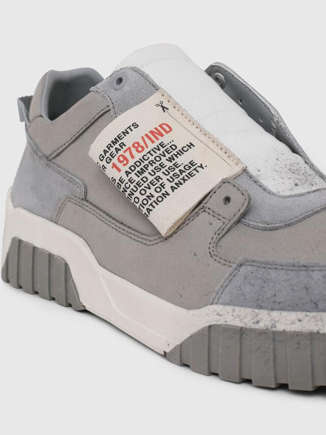 Diesel - S-LE RUA ON, Gris - Sneakers - Image 4