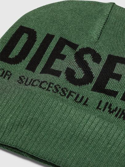 Diesel - K-BECKY-B, Verde Oscuro - Gorros - Image 3