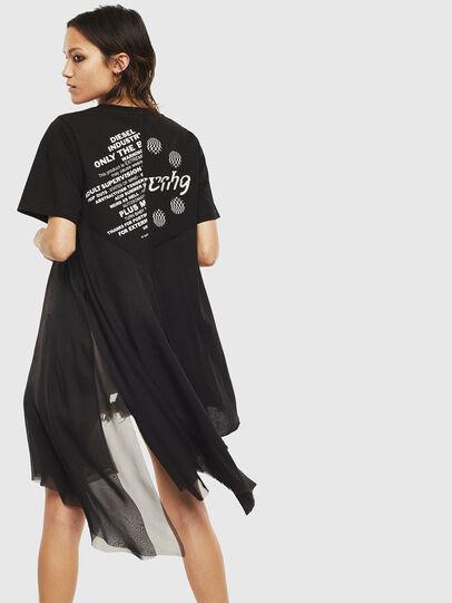 Diesel - T-SETH, Negro - Camisetas - Image 2
