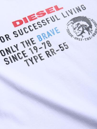 Diesel - TDIEGOXBJ, Blanco - Camisetas y Tops - Image 3